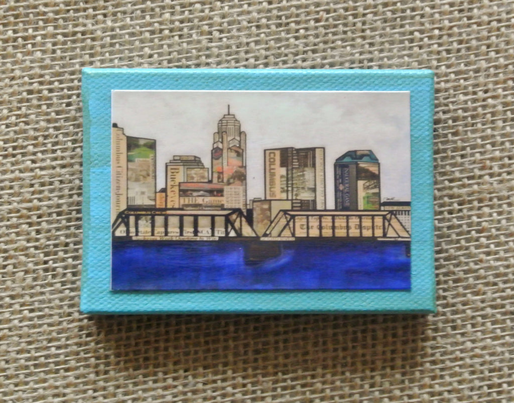 Magnet - Columbus, Ohio Skyline - Celebrate Local, Shop The Best of Ohio