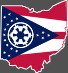 Imperial Ohio Decal Sticker - Celebrate Local, Shop The Best of Ohio