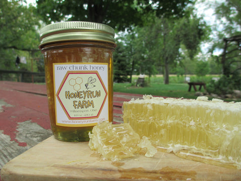 Ohio Raw Chunk Honeycomb Chunk - 10 oz - Celebrate Local, Shop The Best of Ohio