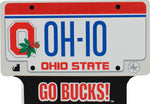 Ohio State License Plate Wood Shelf Sitter - Celebrate Local, Shop The Best of Ohio
