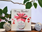 Many Thanks Greeting Card with Lip Balm