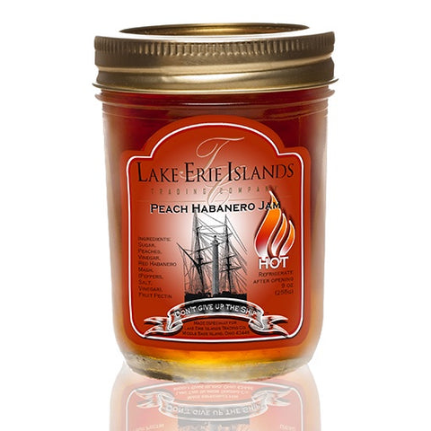 Peach Habanero Jam 9 oz - Celebrate Local, Shop The Best of Ohio
