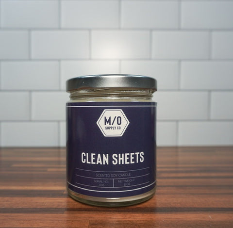Clean Sheets Soy Jar Candle 8 oz