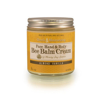Bee Balm Cream -  Almond Vanilla 2 oz - Celebrate Local, Shop The Best of Ohio