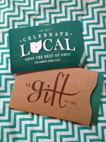 IN STORE ONLY GIFT CARD - Celebrate Local, Shop The Best of Ohio