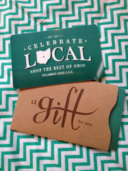 In Store Gift Card - Celebrate Local, Shop The Best of Ohio