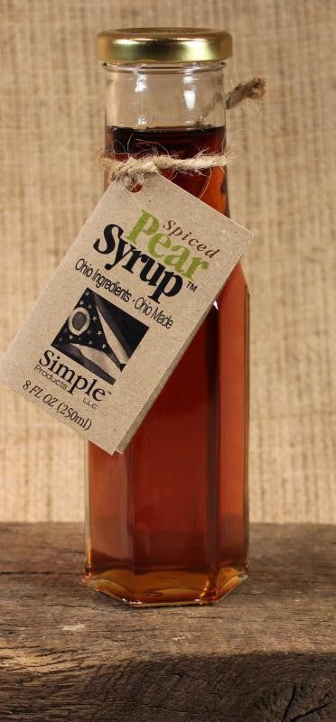 Spiced Pear Syrup (8oz) - Celebrate Local, Shop The Best of Ohio