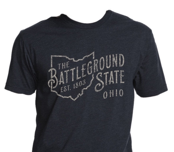 Battleground State Ohio T-Shirt - Celebrate Local, Shop The Best of Ohio