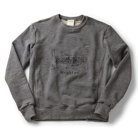 Wright On Classic Crew Sweatshirt - Celebrate Local, Shop The Best of Ohio