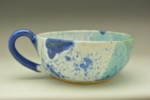 Seascape Hand Thrown Ceramic Soup Bowl - Celebrate Local, Shop The Best of Ohio