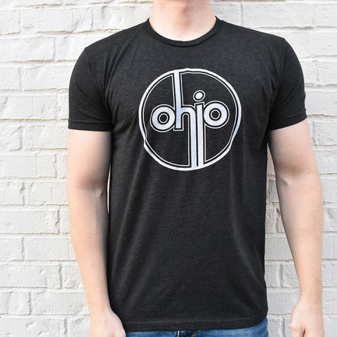 Ohio Retro Vintage Circle Super Soft T-Shirt - Celebrate Local, Shop The Best of Ohio