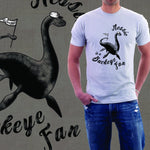 Nessie Is A Buckeye Fan T-Shirt - Celebrate Local, Shop The Best of Ohio