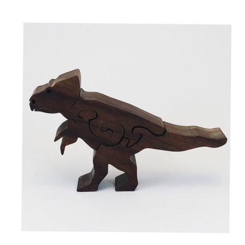 Microceratops Dinosaur Wood Puzzle - Celebrate Local, Shop The Best of Ohio