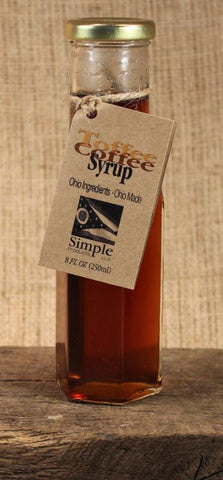Toffee Coffee Syrup (8oz) - Celebrate Local, Shop The Best of Ohio