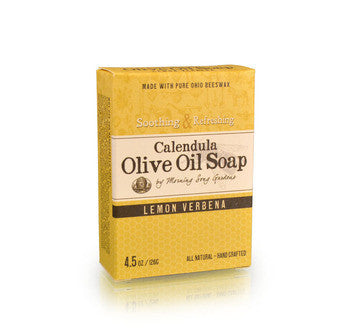 Calendula Olive Oil Soap - Lemon Verbena (4.5 oz.) - Celebrate Local, Shop The Best of Ohio