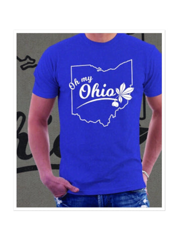 Oh My Ohio Men's T-Shirt - Celebrate Local, Shop The Best of Ohio