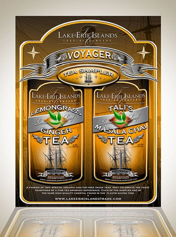 Voyager Tea Sampler 2 pack - Celebrate Local, Shop The Best of Ohio