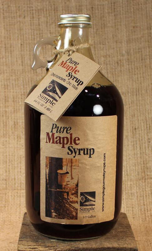 Pure Ohio Maple Syrup Jug (64oz) - Celebrate Local, Shop The Best of Ohio