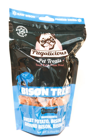 Freeze Dried Sweet Potato and Bison Pet Treats - Celebrate Local, Shop The Best of Ohio