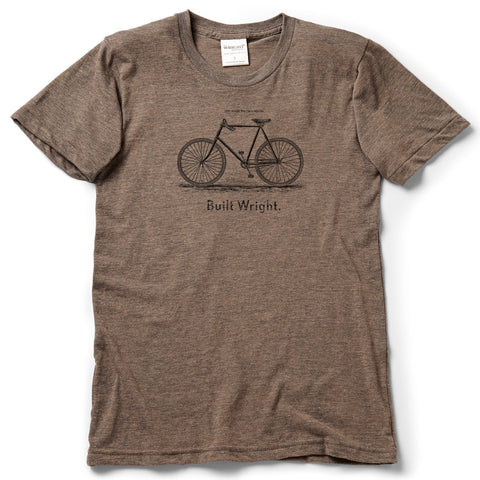 Built Wright Bicycle T-Shirt
