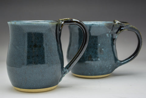 Smokey Blue Hand Thrown Ceramic Mug - Celebrate Local, Shop The Best of Ohio