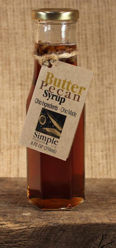 Butter Pecan Syrup (8oz) - Celebrate Local, Shop The Best of Ohio