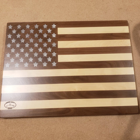 American Flag Wood Wall Art - Celebrate Local, Shop The Best of Ohio