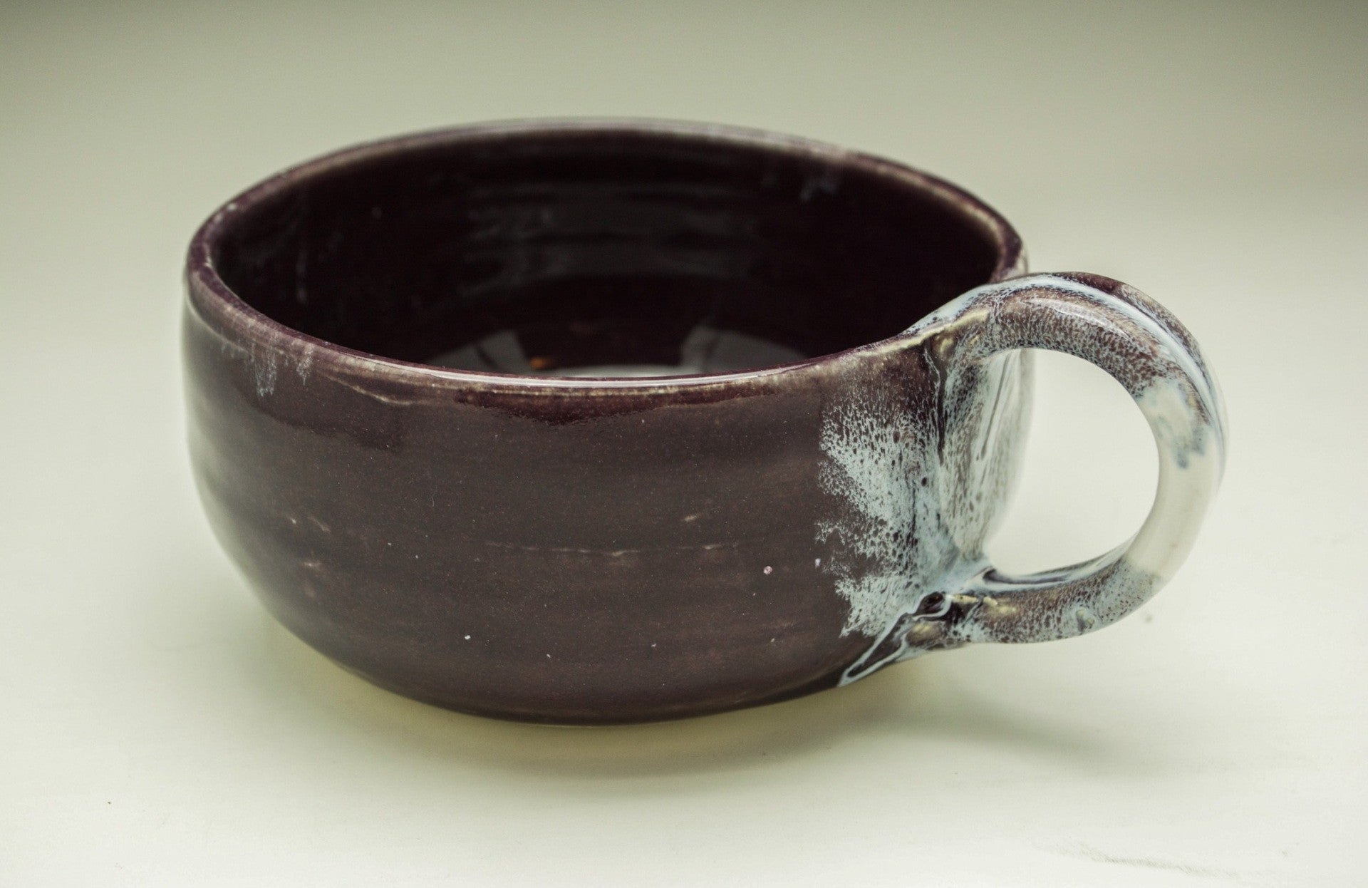 Majestic Purple Hand Thrown Ceramic Soup Bowl - Celebrate Local, Shop The Best of Ohio