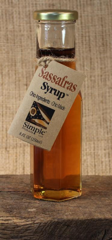 Sassafras Syrup (8oz) - Celebrate Local, Shop The Best of Ohio