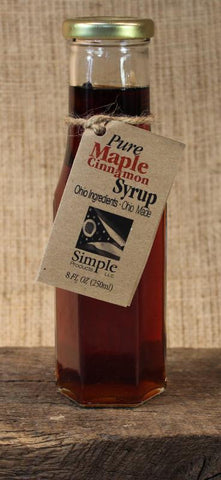 Maple Cinnamon Simple Syrup (8oz) - Celebrate Local, Shop The Best of Ohio