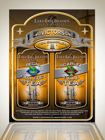 Victors Tea Sample  2 pack - Celebrate Local, Shop The Best of Ohio
