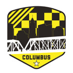 Columbus Ohio Shield Yellow Black - Celebrate Local, Shop The Best of Ohio