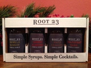 Root 23 Simple Syrup Holiday Sampler Gift Pack - Celebrate Local, Shop The Best of Ohio - 2