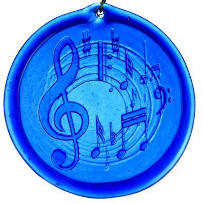 Musical Notes - Recycled Glass Suncatcher - Celebrate Local, Shop The Best of Ohio