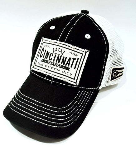 Cincinnati Queen City Trucker Hat - Celebrate Local, Shop The Best of Ohio