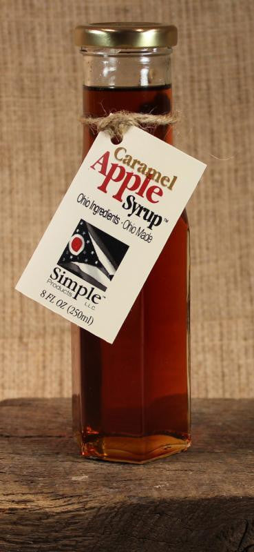 Carmel Apple Syrup (8oz) - Celebrate Local, Shop The Best of Ohio
