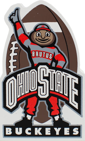 Brutus Buckeye Wood Shelf Sitter - Celebrate Local, Shop The Best of Ohio