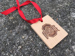 Ohio State Logo Wood Ornament - Officially Licensed - Celebrate Local, Shop The Best of Ohio
