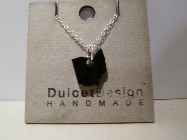 Black Acrylic Ohio Necklace - Celebrate Local, Shop The Best of Ohio