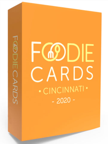 FoodieCards Deck - Ohio Cities Restaurant Discount - Celebrate Local, Shop The Best of Ohio