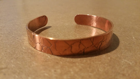 Ohio Copper Imprinted Cuff Bracelet - Celebrate Local, Shop The Best of Ohio