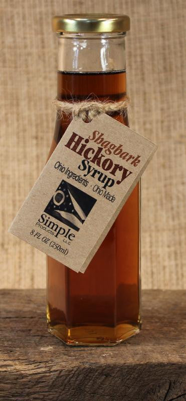 Shagbark Hickory Syrup (8oz) - Celebrate Local, Shop The Best of Ohio