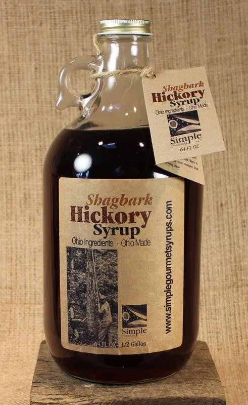 Shagbark Hickory Syrup (64oz) - Celebrate Local, Shop The Best of Ohio