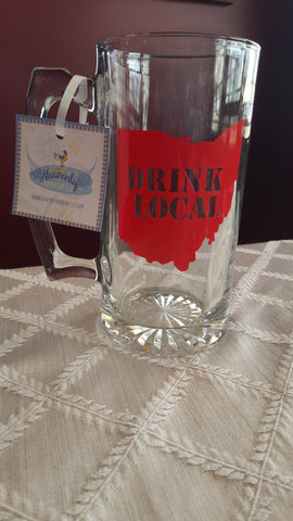Drink Local Ohio Beer Mug - Celebrate Local, Shop The Best of Ohio