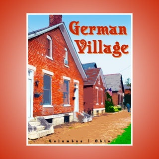 German Village Print 8 x 10
