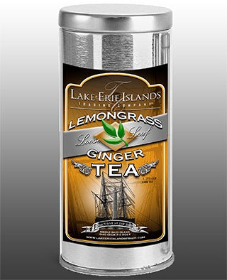 Lemongrass Ginger Loose Leaf Tea - Celebrate Local, Shop The Best of Ohio