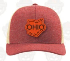 State of Ohio Leather Patch Hat - Celebrate Local, Shop The Best of Ohio