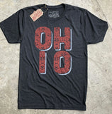 Vintage Floral Ohio T-Shirt - Celebrate Local, Shop The Best of Ohio