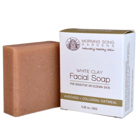 White Clay Facial Soap - Celebrate Local, Shop The Best of Ohio