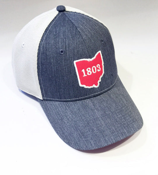 1803 Ohio Charcoal Hat - Celebrate Local, Shop The Best of Ohio